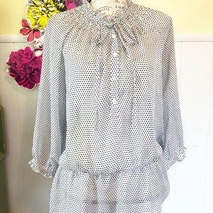 Loft sheer blouse